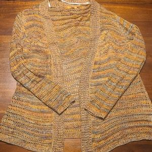 Ladies sweater/cardigan. NWOT